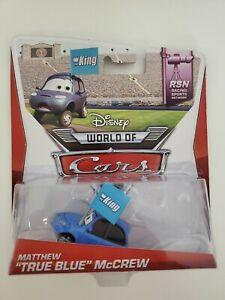 Disney Cars Matthew True Blue McCrew - New In Box!