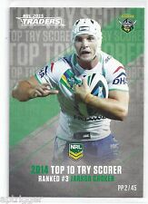 2015 NRL Traders Pieces of the Puzzle (PP 2 / 45 ) Jarrod CROKER Raiders