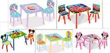 3tlg. Holz Kindersitzgruppe AUSWAHL  Tisch + 2Stuhl Sitzgruppe Kindertisch