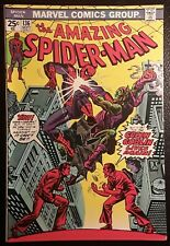 AMAZING SPIDER-MAN #136 VF+ WHITE pgs! GREEN GOBLIN! ORIG OWNER! GORGEOUS BOOK!