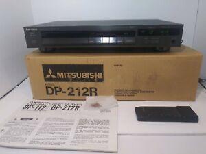 RARE VNTG Mitsubishi DP212R 1988 CD Player w/ Manual, Remote, and Original Box
