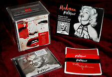 Madonna Box Rebel Heart CDs rare promo Like a Prayer LOT SEX LP 12 True Blue