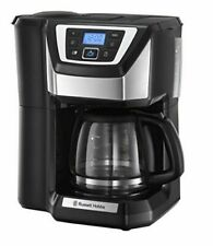 Russell Hobbs Chester Grind and Brew Coffee Machine, Black - 22000