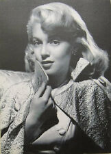 Canvas Home Decor Wall Art - 1950's Hollywood Movie Icon Retro Black & White