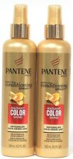2 Pantene Pro-V Leave In Conditioning Spray Radiant Color Shine Detangler 8.5 oz