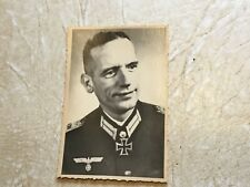RARE  WW2  KGB SEIZED PHOTO Oigen Konig Knights IRON  CROSS WW1 & WW2 Germany