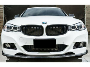 compatible with B M W 3 GT Series F34 Grand Tourismo 2013-present 9 Bars Bonnet Hood Radiator Grill Slat Covers Inserts Stripes Trim Clips M Power Sport Performance Tech Paket Colour Grilles Badge