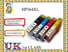 4 chiped 364XL PARA PHOTOSMART 5520 5524 6510 6520 7510 Impresora Para Hp Originales