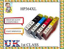 4 chiped 364XL PARA PHOTOSMART 5520 5524 6510 6520 7510 Impresora Para Hp Originales