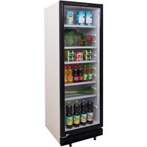 Getränkekühlschrank Flaschenkühlschrank Glastür Umluft Getränke - ZORRO ZK 360