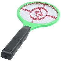 1X(Moustique Killer ÉLectrique Raquette de Raquette de Tennis Insecte Fly Bu hu2