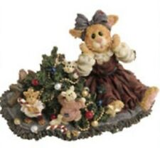 Boyds Christmas Cat Patience Purrkins & The Mischief Makers Catastrophe #371016