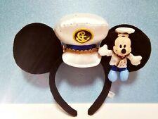 DISNEY HEADBAND TOKYO DISNEYRESORT MICKEY MOUSE  EARS HAT DISNEY SEA LIMITED