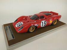 Tecnomodel Ferrari 312P Coupe #19 Amon/Schetty Le Mans 1969 1/18