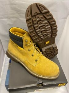 Mens CAT Caterpillar Quadrate Suede Leather Lace up Desert Boots Size UK 8 42