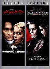 Sleepy Hollow/Sweeney Todd: The Demon Barber of Fleet Street (DVD, 2014,...