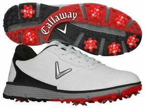 New Calloway Balboa TRX CG101WK Golf Shoes Mens Size US 11.5 White Black Red
