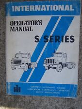 1978 International S Series Truck Operator Manual MORE TRUCK ITEMS IN STORE  V