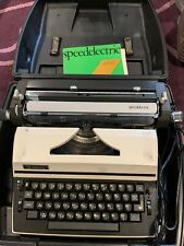 Vintage Royal SpeedElectric Typewritter w/ Case and Manual