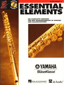 Essential Elements Bläserklasse Flöte Querflöte Band 2 Noten mit CD