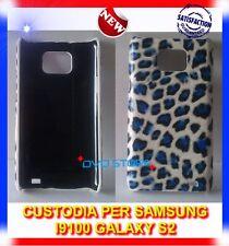 Custodia+Pellicola LEO BLU per Samsung i9100 GALAXY S2 plus I9105