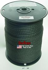 """300' 1/4"""" 100% Dacron Polyester Rope, Doomsday Prepper, Dipole Antenna Longwire"""