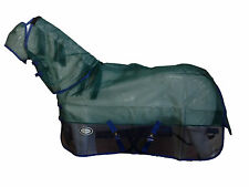 AXIOM GREEN/NAVY STRONG MESH FLYSHEET HORSE COMBO - 6' 6