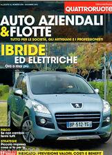 QUATTRORUOTE=AUTO AZIENDALI & FLOTTE=DICEMBRE 2001=IBRIDE ED ELETTRICHE