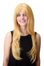 Ladies' Wig Long Smooth Fringe Layered Gelbblond Gold-Blonde Gfw09-144-86