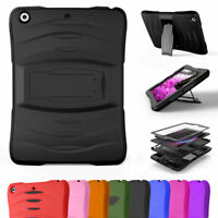 """For iPad 6th Generation 9.7"""" Shockproof Hybrid Hard Case with Screen Protector"""