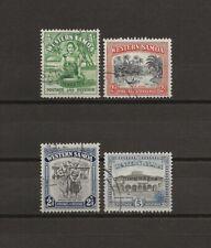 More details for western samoa 1944/9 sg 200/5 used cat £65