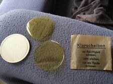 pochette verres de rechange pour masque à gaz allemande 2ème guerre WW2 1944