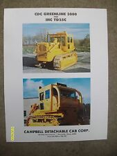 RARE CDC Greenline for International Harvester IHC TD25C Campbell Cab corp Flyer