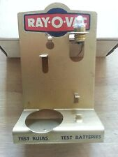 """Ray-O-Vac """" C/D """" Battery Tester NOS #36A"""