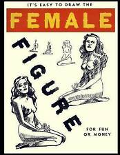 NEW It's Easy To Draw The Female Figure For Fun Or Money by Mr Kevin James