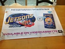 JETSONS THE MOVIE ROLLED POSTER Promotional Promo Use Only October 25, 1990