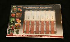 10 pcs Chef Deluxe Steak Knife Set. Mint