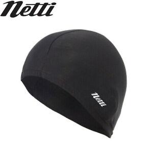 Netti Vented Super Roubaix Winter Under Helmet Head Warmer - Black