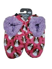 COMFIES Slippers-  KING CHARLES CAVALIER Doggy   1 Size Fits Most