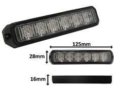 Ic360 Recovery Vehicle Surface Mount Amber 6LED Grill Aux Light Module 12v / 24v