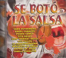 Cano Estremera Angel Canales Pedro Conga Se Bota La Salsa CD No Plastic Seal