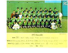 1972 Eugene Emeralds 8X10 Team Photo Philadelphia Phillies Schmidt Boone Oregon