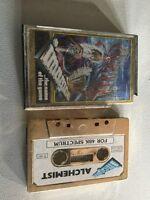 Alchemist Gold Edition Zx Spectrum Sinclair Video Game Cassette Vtg Retro