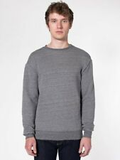American Apparel Classic Sweat Heavy Gray French Terry Crewneck HVT427 Pullover