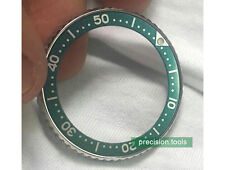 Green Color Replacement Insert For SCUBA skx013 Submariner 38mm 16610LV Parts