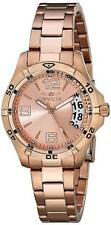Invicta Ladies 15120 Rose Gold Tone Large Date 200M New in Box Watch