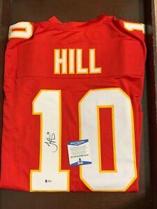 Tyreek Hill Autographed Signed Custom Jersey JSA