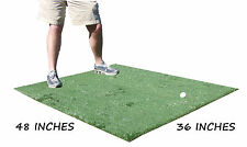 3 Ft x 4 Ft Golf Chipping Driving Range Commercial Fairway Rough Practice Mat