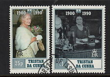 Royalty Used Tristanian Stamps