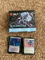 Kaldheim Collector Booster Box, FOIL bulk cards: common, uncommon, tokens, MTG